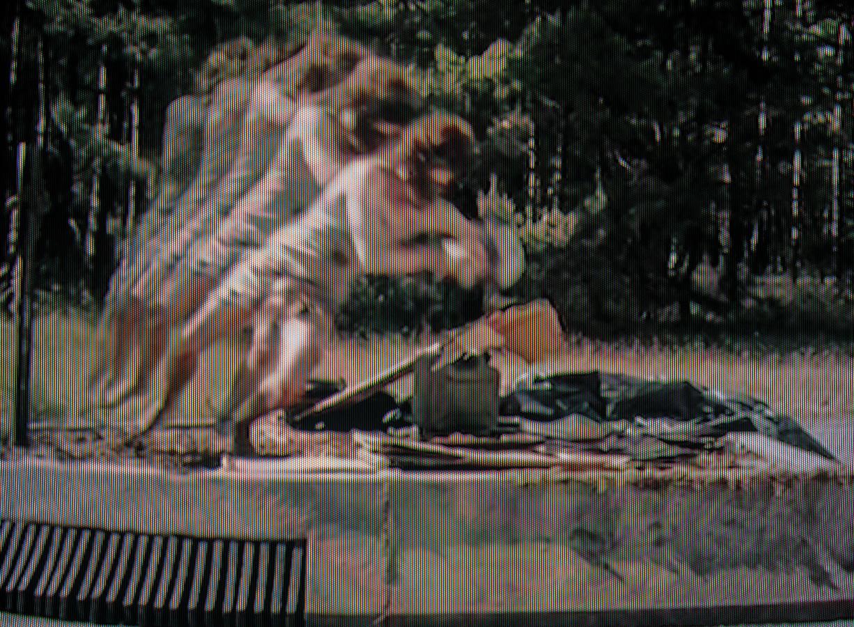 Fotomontage aus Filmstils. Die übereinandergelegten Einzelbilder zeigen einen Menschen der stürzt.