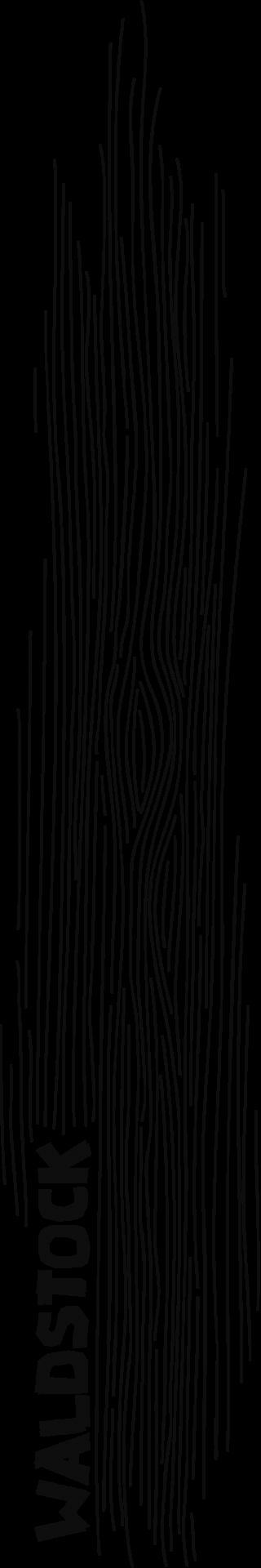 Abstraktes T-Shirt-Motiv: viele senkrechte Linien, ähnlich wie Baumrinde.